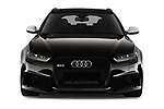 Car photography straight front view of a 2019 Audi RS 6 Avant Base 5 Door Wagon