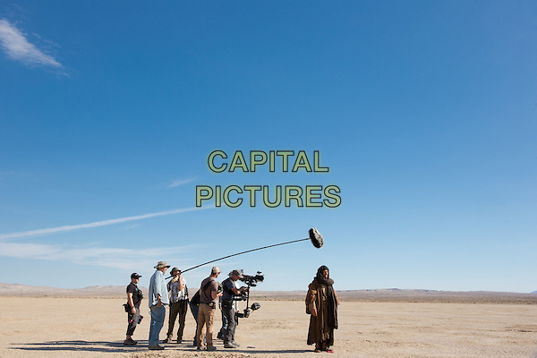 Last Days in the Desert (2015)<br /> The camera crew along with director Rodrigo Garc&iacute;a and Ewan McGregor working on the set of<br /> *Filmstill - Editorial Use Only*<br /> CAP/KFS<br /> Image supplied by Capital Pictures