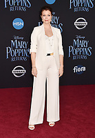 LOS ANGELES, CA - NOVEMBER 29: Bellamy Young attends the Premiere Of Disney's 'Mary Poppins Returns' at El Capitan Theatre on November 29, 2018 in Los Angeles, California.<br /> CAP/ROT/TM<br /> &copy;TM/ROT/Capital Pictures