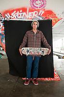 Jaen Nanjarrez (mayor de edad). Portraits of Adolescents San Cosme skate park, in Mexico City. Release #14