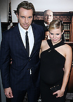 BEVERLY HILLS, CA, USA - OCTOBER 01: Dax Shepard, Kristen Bell arrive at the Los Angeles Premiere Of Warner Bros. Pictures And Village Roadshow Pictures' 'The Judge' held at the Samuel Goldwyn Theatre at The Academy of Motion Picture Arts and Sciences on October 1, 2014 in Beverly Hills, California, United States. (Photo by Xavier Collin/Celebrity Monitor)