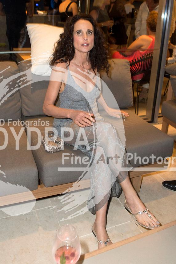 Andie MacDowell bei der Remus Lifestyle Night 2017 im Llaut Palace Hotel. Palma, 03.08.2017