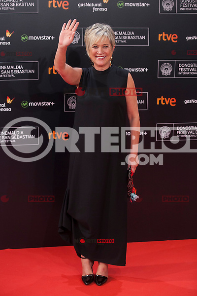 63rd Donostia Zinemaldia opening ceremony (San Sebastian International Film Festival) in San Sebastian, Spain. September 18, 2015. (ALTERPHOTOS/Victor Blanco) /NortePhoto.com