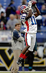 31 December 2006: Buffalo Bills wide receiver Roscoe Parrish (11) warms up prior to a game against the Baltimore Ravens at M&T Bank Stadium in Baltimore, Maryland. The Ravens defeated the Bills 19-7. Mandatory Photo Credit: Ed Wolfstein Photo.<br />