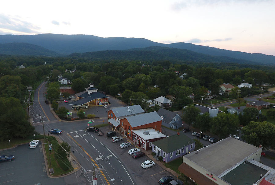 Downtown Crozet, Va. Photo/Andrew Shurtleff