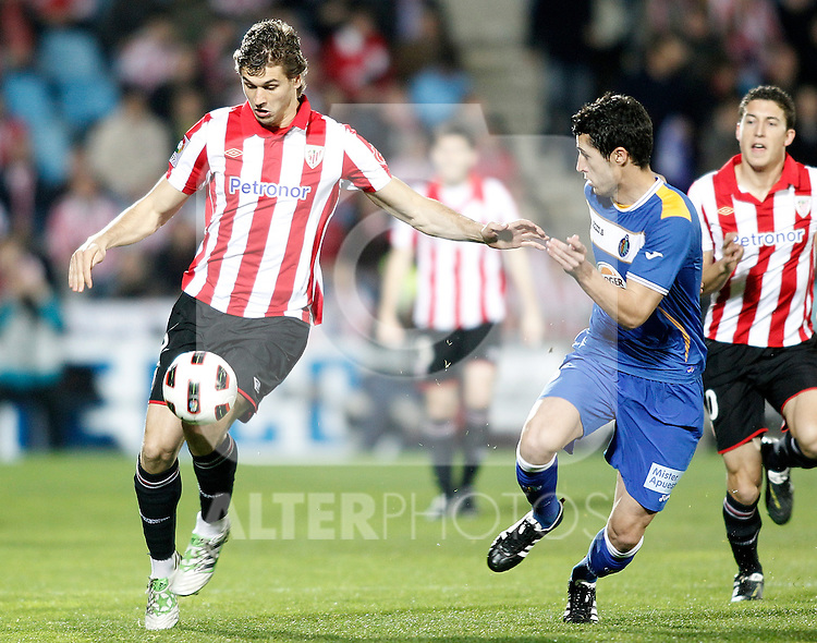 Athletic de Bilbao's Fernando Llorente during La Liga Match. March 14, 2011. (ALTERPHOTOS/Alvaro Hernandez)