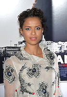 LOS ANGELES, CA. November 11, 2016: Actress Gugu Mbatha-Raw at premiere of &quot;Miss Sloane&quot;, part of the AFI Fest 2016, at the TCL Chinese Theatre, Hollywood.<br /> Picture: Paul Smith/Featureflash/SilverHub 0208 004 5359/ 07711 972644 Editors@silverhubmedia.com
