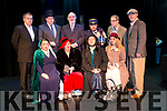The cast of the Ghost Train by the Carnegie Players in Kenmare.<br /> Front L-R: Emer Guihan, Bernie O Sullivan, Sally Boland, L&iacute;adan Quinn-Favier. BackL-R: Richard Juozapaitis, Patrick Mahoney, Dezy Walls, Jerry O Sullivan, Dani Gagnon, Padraig Rochford