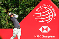 Jazz Janewattananond (THA) on the 9th tee during the 3rd round of the WGC HSBC Champions, Sheshan Golf Club, Shanghai, China. 02/11/2019.<br /> Picture Fran Caffrey / Golffile.ie<br /> <br /> All photo usage must carry mandatory copyright credit (© Golffile | Fran Caffrey)