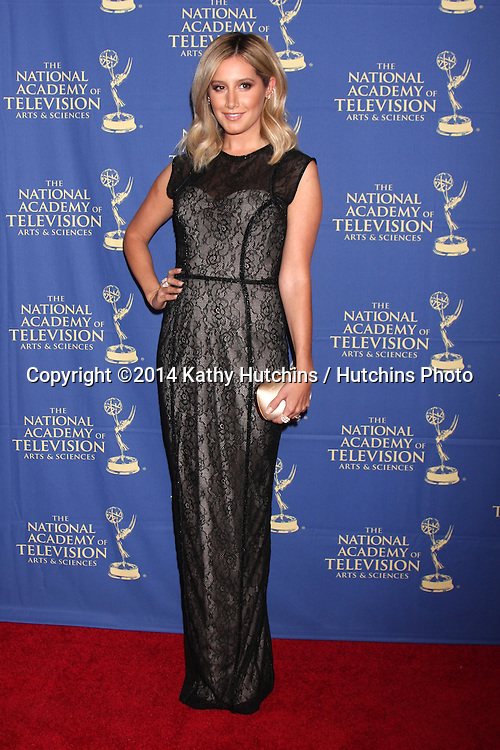 LOS ANGELES - JUN 20:  Ashley Tisdale at the 2014 Creative Daytime Emmy Awards at the The Westin Bonaventure on June 20, 2014 in Los Angeles, CA