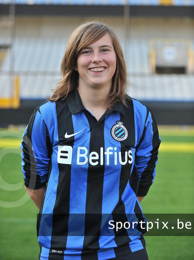 Club Brugge Dames / Vrouwen B : Rany Hungenaert<br /> foto David Catry / nikonpro.be