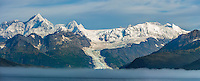 Mt Gilbert,  Chugach mountains, Cascade glacier, Chugach National Forest, Prince William Sound, southcentral, Alaska.