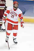 Brian McGuirk - The Boston College Eagles defeated the Boston University Terriers 5-0 on Saturday, March 25, 2006, in the Northeast Regional Final at the DCU Center in Worcester, MA.