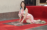 Lucy Liu Honored With Star On The Hollywood Walk Of Fame on May 01, 2019 in Hollywood, California.<br /> a_Lucy Liu 013