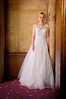Bridal wedding dress Photo shoot at the Westone Manor Hotel, Northampton