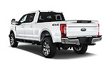 Car pictures of rear three quarter view of 2017 Ford F-250 Lariat-Crew-Cab 4 Door Pickup Angular Rear