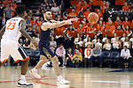 CHARLOTTESVILLE, VA - MARCH 03: Notre Dame's Matt Farrell. The University of Virginia Cavaliers hosted the University of Notre Dame Fighting Irish on March 3, 2018 at John Paul Jones Arena in Charlottesville, VA in a Division I men's college basketball game. Virginia won the game 62-57.