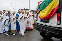 St. Michael Church Timiket Procession and Ceremony, Jan. 2017
