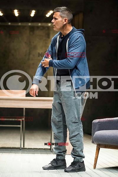 "Roberto Enriquez during the theater play of ""El Pequeño Poni"" at Teatro Bellas Artes in Madrid. August 16, Spain. 2016. (ALTERPHOTOS/BorjaB.Hojas) /NORTEPHOTO"