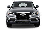 Car photography straight front view of a 2017 Audi Q5 Premium 5 Door SUV Front View