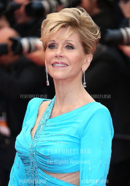 Jane Fonda at the 66th Cannes Film Festival - Jimmy P. Psychotherapy of a plains Indian, Cannes, France. 18/05/2013 Picture by: Henry Harris / Featureflash