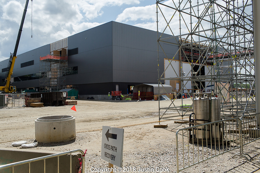 A tour of the Novo Nordisk production plant in Clayton, NC Friday, April 27, 2018. (Justin Cook for STAT News)