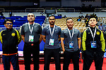 AFC Futsal Championship Chinese Taipei 2018 match between Vietnam and Malaysia at  Xinzhuang Gymnasium on 01 February 2018 in Taipei, Taiwan. Photo by Marcio Rodrigo Machado / Power Sport Images February 2018 in Taipei, Taiwan. Photo by Marcio Rodrigo Machado / Power Sport Images