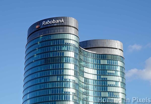 Hoofdkantoor van de Rabobank in Utrecht .