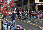 The crowd enjoys the annual Nevada Day parade in Carson City, Nev. on Saturday, Oct. 29, 2016. <br />