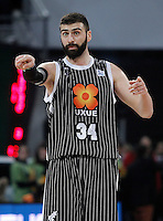 Uxue Bilbao Basket's Kostas Vasileiadis during Spanish Basketball King's Cup match.February 07,2013. (ALTERPHOTOS/Acero)