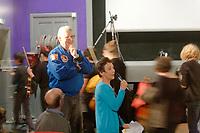 Séance du film « Thomas Pequet, envoyé spatial »,<br /> Jean-Jacques Favier et Marie-Hélène Saller