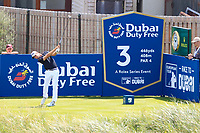 Guido Migliozzi (ITA) on the 3rd tee during the Pro-Am of the Irish Open at LaHinch Golf Club, LaHinch, Co. Clare on Wednesday 3rd July 2019.<br /> Picture:  Thos Caffrey / Golffile<br /> <br /> All photos usage must carry mandatory copyright credit (© Golffile | Thos Caffrey)