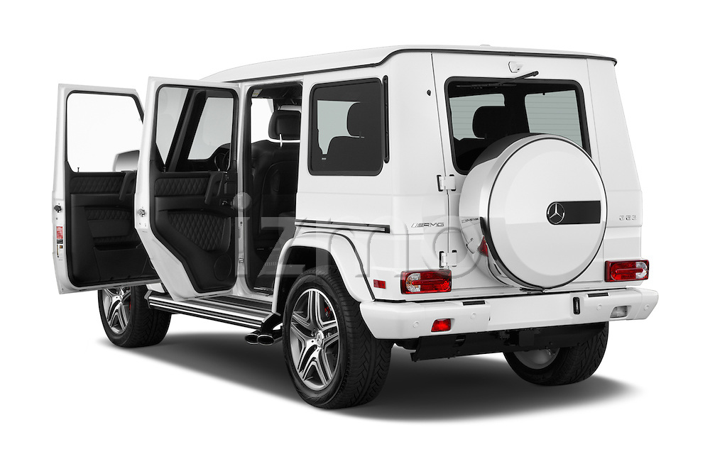Car images of 2016 Mercedes Benz G-Class AMG-G63 5 Door SUV Doors