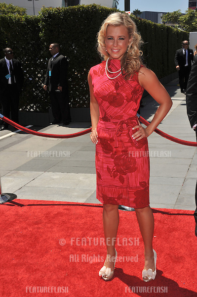 Chelsie Hightower at the 2010 Creative Arts Emmy Awards at the Nokia Theatre L.A. Live..August 21, 2010  Los Angeles, CA.Picture: Paul Smith / Featureflash