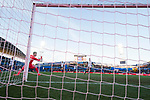 Goalkeeper Norberto Murara Neto of Valencia CF saving the goal during the La Liga 2017-18 match between Getafe CF and Valencia CF at Coliseum Alfonso Perez on December 3 2017 in Getafe, Spain. Photo by Diego Gonzalez / Power Sport Images