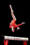 Soyoka Hanawa (JPN), <br /> AUGUST 21, 2018 - Artistic Gymnastics : <br /> Women's Individual All-Around Balance Beam <br /> at JIEX Kemayoran Hall D <br /> during the 2018 Jakarta Palembang Asian Games <br /> in Jakarta, Indonesia. <br /> (Photo by Naoki Nishimura/AFLO SPORT)