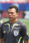 22 July 2007: Fourth Official Enrico Wijngaarde (SUR). At the National Soccer Stadium, also known as BMO Field, in Toronto, Ontario, Canada. Chile's Under-20 Men's National Team defeated Austria's Under-20 Men's National Team 1-0 in the third place match of the FIFA U-20 World Cup Canada 2007 tournament.
