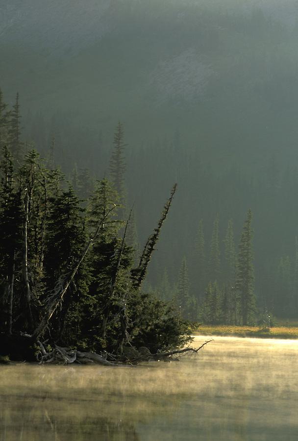Mystic Lake, Mount Rainier National Park, Washington