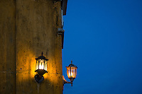 Street lights in Hoi An, Vietnam