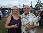 Peggy and Angelo Terranova during the  Greek Festival held at the St. Anthony's Greek Orthodox Church in Reno, Nevada on Friday, August 18, 2017.