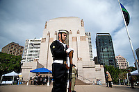 Commemoration Service for Aboriginal War Veterans, 25.05.12