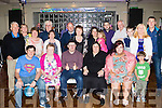 Nifty fifty<br /> -----------<br /> James Fitzgerald, Ardfert, seated centre, was surrounded by family and friends during his 50th birthday party in the Ballyroe heights hotel last Saturday night.