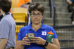 29 April 2016: Duke Sports Information Director Meredith Rieder. The University of Notre Dame Fighting Irish played the Duke University Blue Devils at Fifth Third Bank Stadium in Kennesaw, Georgia in a 2016 Atlantic Coast Conference Men's Lacrosse Tournament semifinal match. Duke won the game 10-9 in overtime.