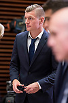 Real Madrid Toni Kroos during visit to Madrid Council during  the celebration of the 13th UEFA Championship in Madrid, June 04, 2017. Spain.<br /> (ALTERPHOTOS/BorjaB.Hojas)
