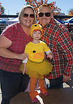 Kasie, Rick and 2-year-old Reagan Reynolds during Pumpkin Palooza in Sparks, Nevada on Sunday, Oct. 22, 2017.