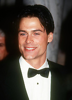 Rob Lowe, 1992, Photo By John Barrett/PHOTOlink