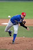 Auburn Doubledays pitcher Sean Shoffit (22) during a game vs. the Batavia Muckdogs at Dwyer Stadium in Batavia, New York September 5, 2010.   Batavia defeated Auburn 7-0.  Photo By Mike Janes/Four Seam Images