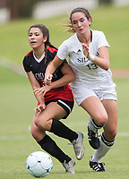 NWA Democrat-Gazette/JASON IVESTER<br /> 6A GIRLS SOCCER: Siloam Springs vs Russellville on Friday, May 19, 2017, at Razorback Field in Fayetteville