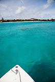 EXUMA, Bahamas. Boating around Fowl Cay.