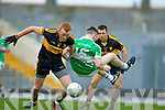 Johnny Buckley Dr. Crokes in action against Conor Keane Legion in the  Senior Club Championship Final at Fitzgerald Stadium on Saturday.